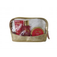 Magical Winter Body Care Set With Cosmetic Bag