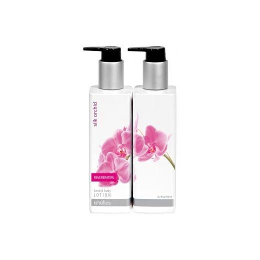 Parfumuotas losjonas rankoms ir kūnui su šilkinėmis orchidėjomis Kinetics