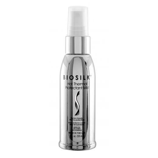 Nuo karščio apsaugantis plaukų purškiklis Biosilk