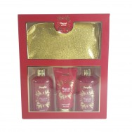 Magical Winter Bath Set With Cosmetic Bag