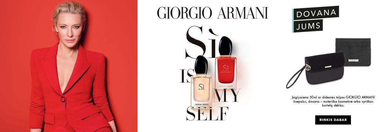 Giorgio Armani Si - pirk ir gauk dovaną