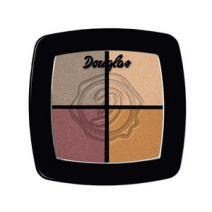 Keturių spalvų akių šešėlių paletė Douglas Make Up