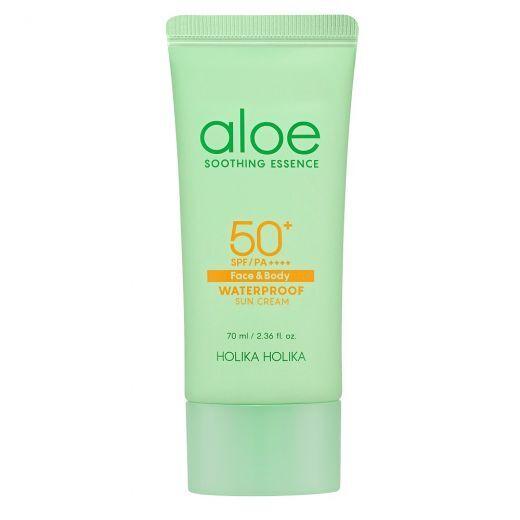 Aloe Soothing Essence Face&Body Waterproof Sun Gel SPF 50+