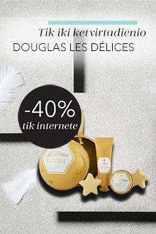 Douglas Les Delices akcija tik internete