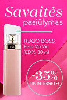 Savaitės pasiūlymas - Hugo Boss su nuolaida