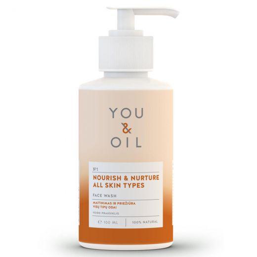 Nourish & Nurture All Skin Types Face Wash