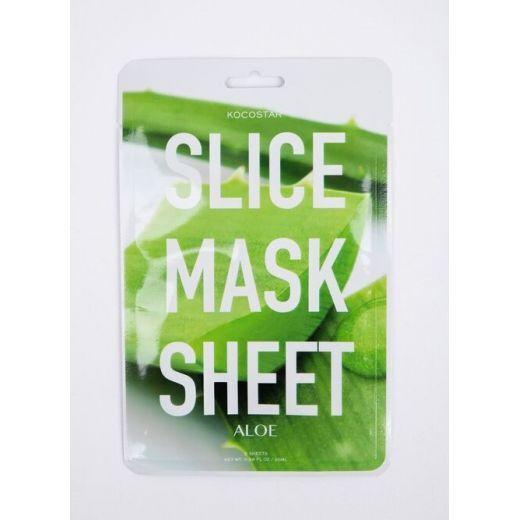 Soothing and moisturizing slice sheet masks