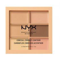 Koreguojamoji veido paletė NYX PROFESSIONAL MAKEUP