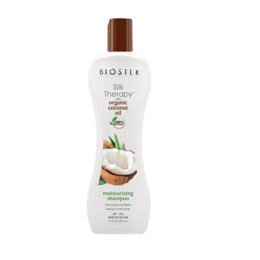 Silk Therapy With Organic Coconut Oil Moisturizing Shampoo