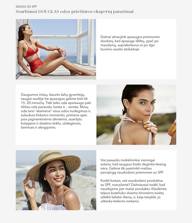 Svarbiausi odos priežiūros eksperto patarimai