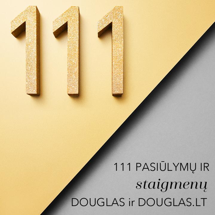 111 pasiūlymų ir staigmenų