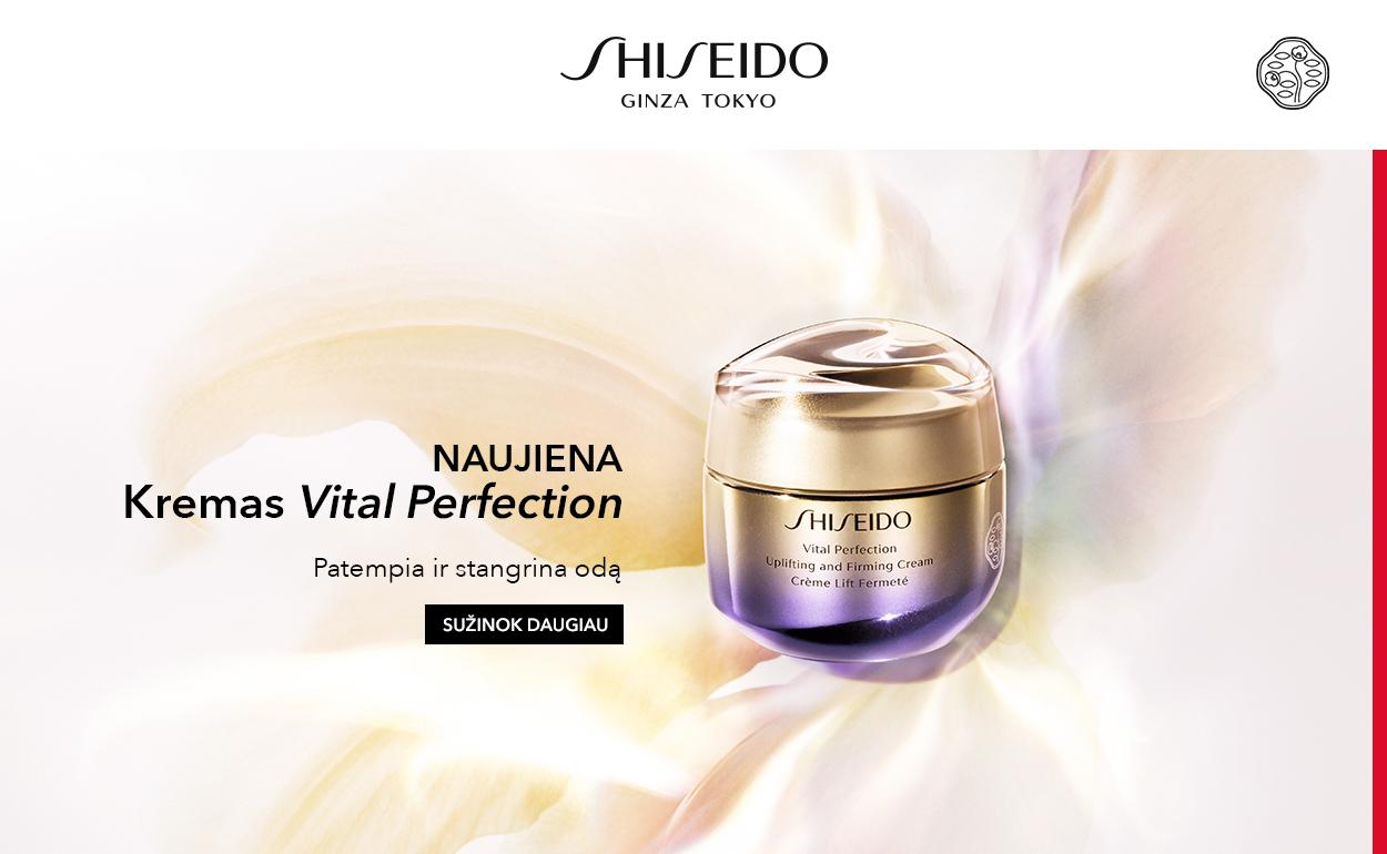SHISEIDO | Vital Perfection