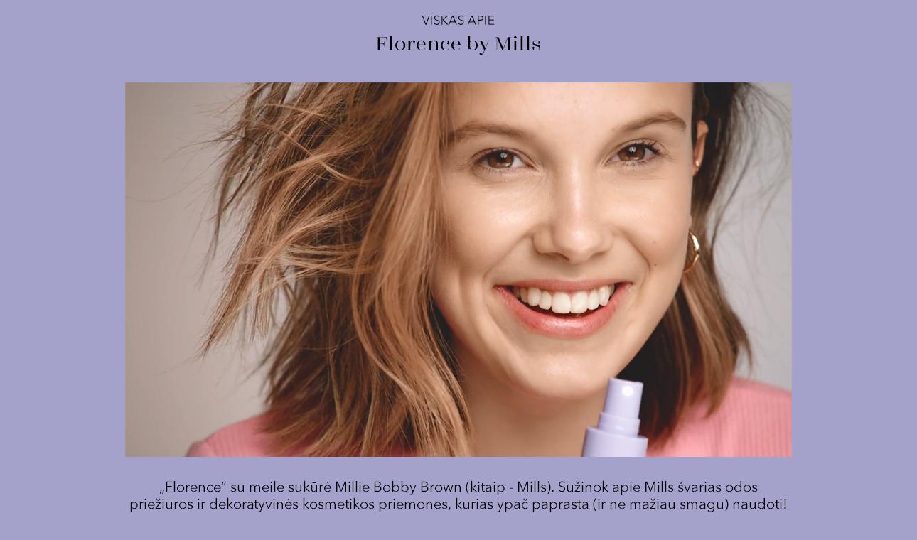 Milly Bobby Brown sedėjo ne vieno makiažo meistro kėdėje, tad puikiai supranta, ko reikia kiekvienam iš mūsų - švarios sudėties odos priežiūros ir makiažo produktų, kuriuos paprasta naudoti.   JAU GREITAI!