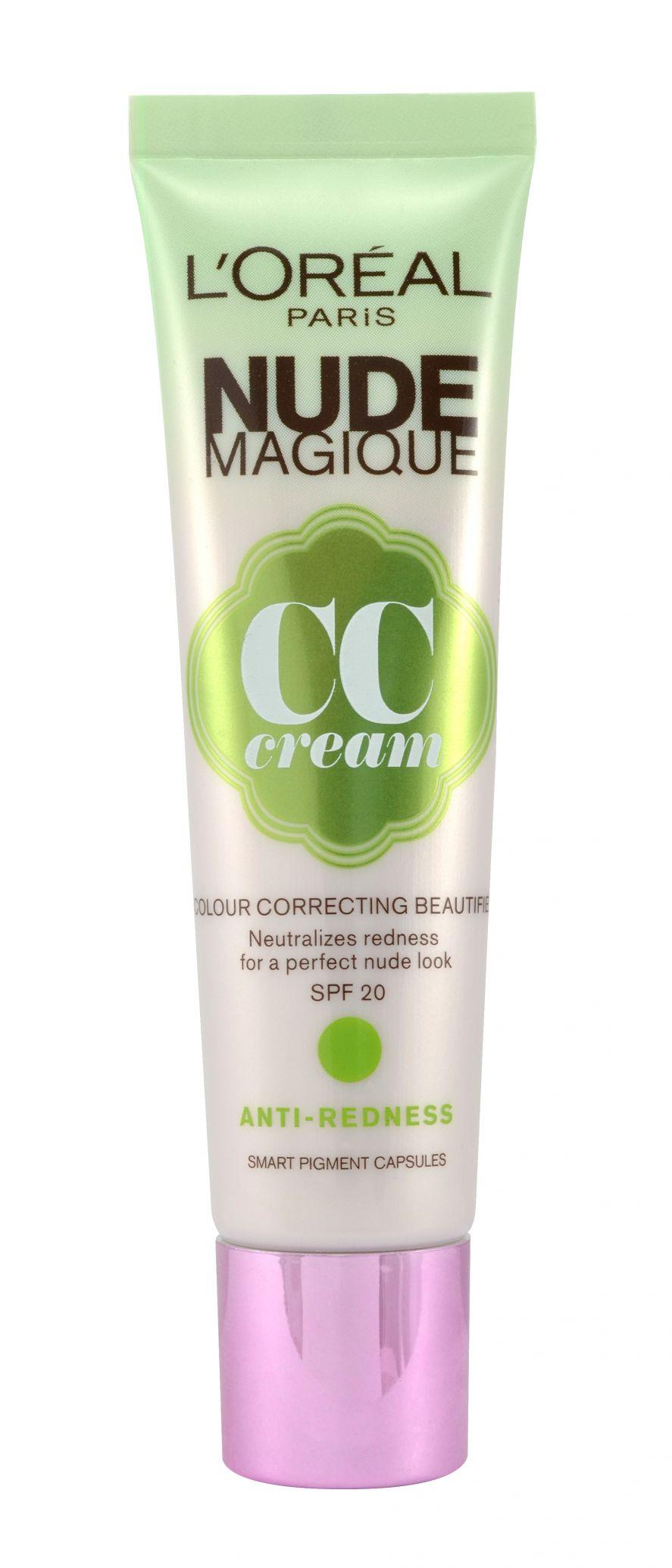 Loreal Foundation Nude Magique CC Cream Anti Redness